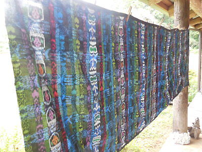 "Gorgeous Hand Woven Guatemalan Cloth 8'2"" x 33.5"" clothes, tablecloth, pillows?"