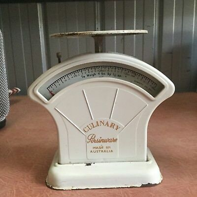 1 ( one ) AUSTRALIAN  MADE PERSINWARE CULINARY  KITCHEN SCALES