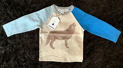 COUNTRY ROAD BABY Long Sleeve T-Shirt Tee Top Sz 12-18 Months BNWT RRP $30