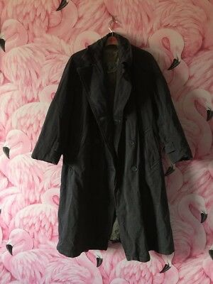 Genuine Vintage 1950s Raincoat Size 8
