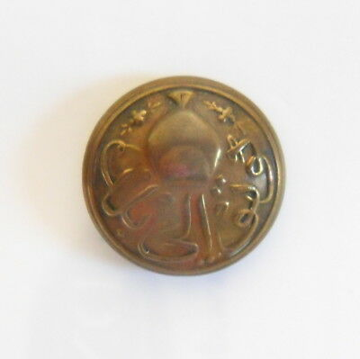 HH The Nizam of Hyderabad Unknown Unit Other Ranks Tunic Button.