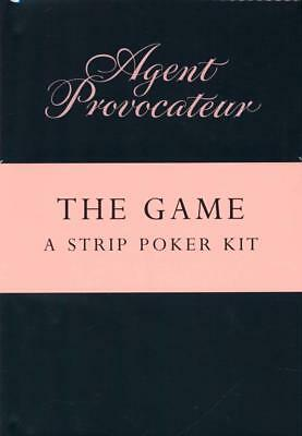 Agent Provocateur the Game A Strip Poker Kit Brand New