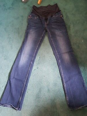 Next Maternity Jeans, Over Bump. Size 8L