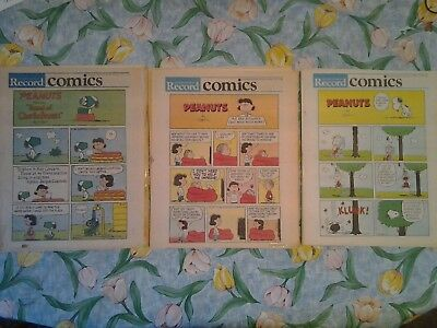 25 Kitchener-Waterloo Record Saturday Colour Comics Sections 1984 - 1988