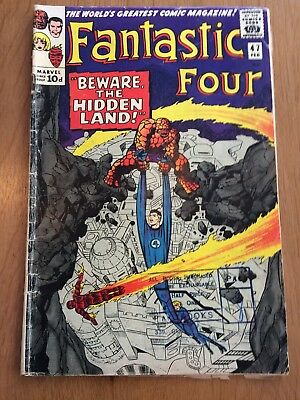 Fantastic Four Marvel Silver Age Comic # 47, 1965!