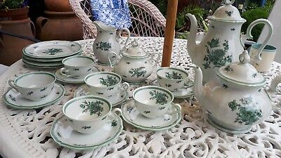 Rosenthal Bahnhof Selb Germany Chippendale china full coffee/tea set. Guildford