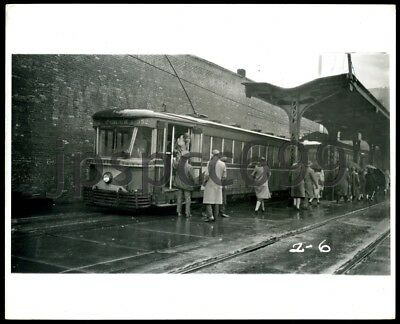 Ends Bridge Trolley Station - St. Louis, Mo about 1930