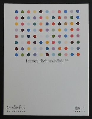 HAYDEN KAYS - Original Typewriter Piece, 'My Hirst Love' + COA - 2013