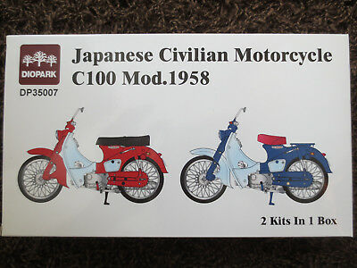 +++ Diopark + Moped C100 Mod. 1958 + Japanese Civilian Motorcycle + Classic +++