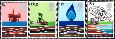 (Ref-12687) Great Britain 1978 Energy Resources SG.1050/1053 Mint (MNH)