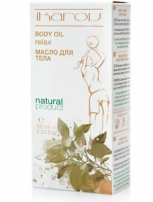 """IKAROV After Sport Body Massage Oil """"Relax"""" Natural Muscle Relief - 125m"""