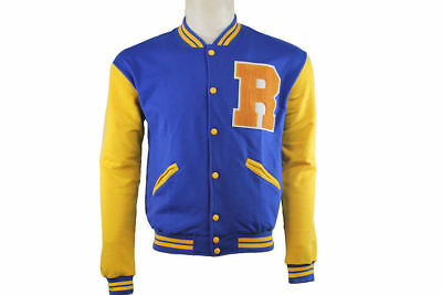 Baseball Knit Front Blue Archie Kj Rib Riverdale Apa Varsity Men New YTv6q40w