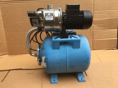 Pacific Hydrostar 68387 1 HP Shallow Well Pump Stainless Steel Housing