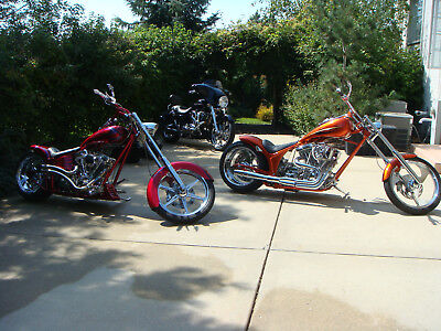 2009 Custom Built Motorcycles Other  LOOK!! Fantastic one off orange custom built motorcycle for riding in style!!