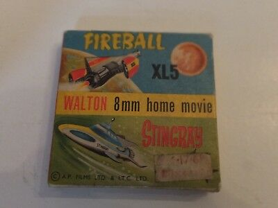 "Stingray 8mm home movie b&w - ""Emergency Marineville"". Gerry Anderson."
