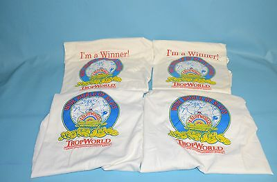 "Vintage Atlantic City Trop World Casino "" Wide World of Slots "" T-Shirt's"