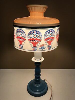 Pepsi Cola Vintage Sign Lighted Table Lamp  RARE FIND LAMP Feelin' Free