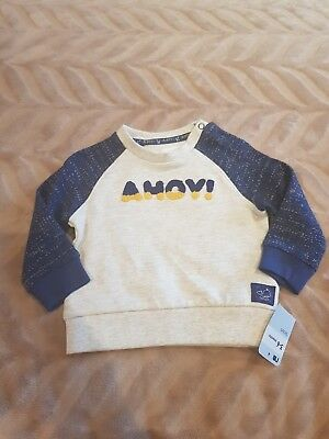 Boys MOTHERCARE jumper Age 3-6 Months (4)