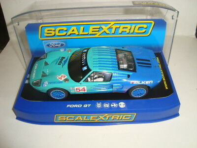 Scalextric   Slotcar  Ford  Gt 40  Mit Box