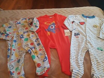 Boys MOTHERCARE Babygrows Age 3-6 Months (6)