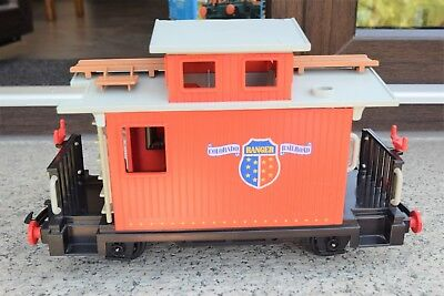 """LGB/Playmobil, Spur G,  Western-Waggon 4123 - Caboose zur """"Steaming Mary"""""""