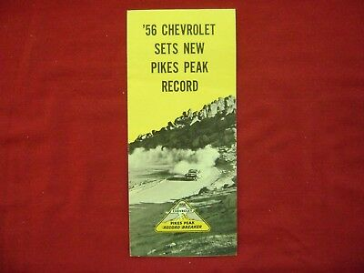 '56 CHEVT SETS NEW PICKS PEAK RECORD.  The HOT One's Even HOTTER!  1956 CHEVY
