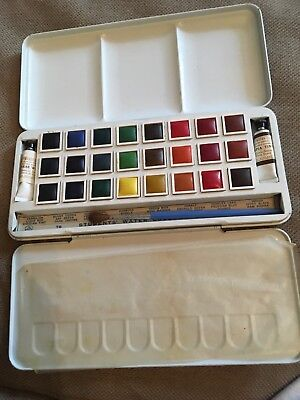 Vintage Watercolour Paintbox