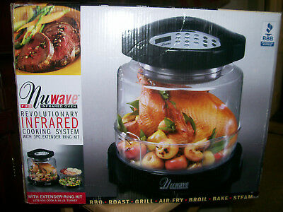 New Nuwave Pro Infrared Oven With Extender Ring Kit Model 20322