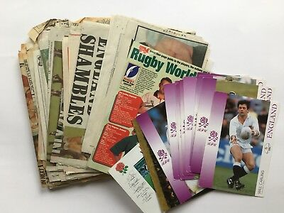 Rugby world cup 1995 press clippings