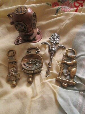 vintage brass collectables,antique and curio