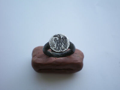 Ancient Antique ROMAN Legionary SILVER RING