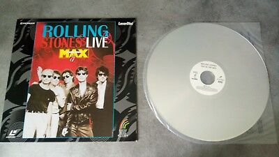 Laserdisc - Rolling Stones at the MAX Live