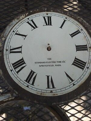 Standard Electric Time Co. Clock