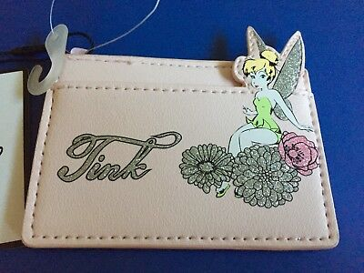 Primark Disney Tinkerbell Card Holder Purse/ Wallet BNWT