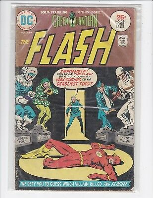 The Flash #234 - 1975 - Green Lantern Solo story - Good
