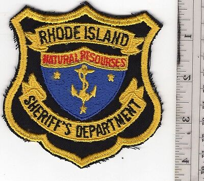 Rhode Island Natural Resources Sheriff's Department
