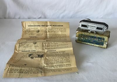 Vintage V Clean WATAMETER Model I Germany Wata Vintage Camera Rangefinder
