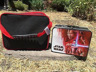 Microsoft Exclusive Star Wars collectible lunchbox. One metal and one plastic.