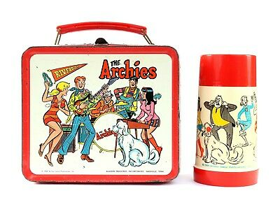 The Archies Lunchbox and Thermos, Aladdin, 1969
