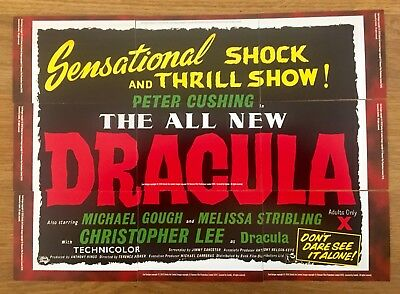Hammer Horror Dracula 9 card Poster set  - Strictly Ink Trading Card Series 2