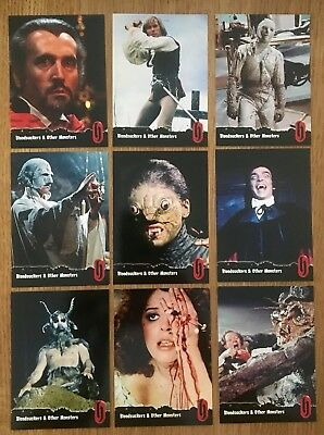 Hammer Horror Cards Strictly Ink Card Series1 46-54 Bloodsuckers & Other Monster