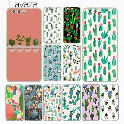 For Huawei P20 P10 P9 P8 Lite P Smart Mate 10 Pro Case Cover Succulent hard