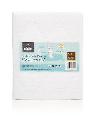 The Junior Fine Bedding Company Waterproof  Mattress Protector - Cot Size