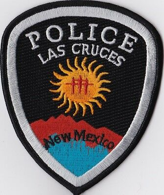 Las Cruces NM New Mexico Police patch