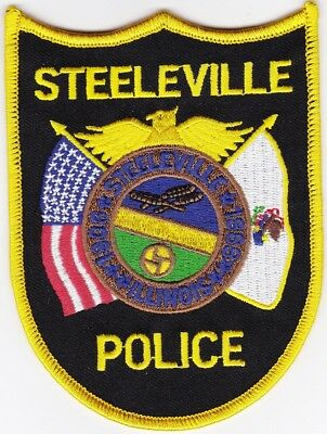 Steeleville Police Illinois patch NEW