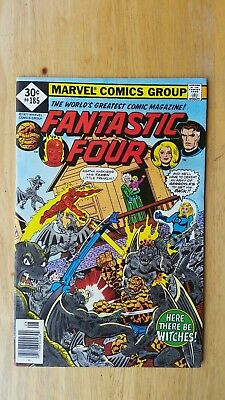 Fantastic Four #185 VF/NM/9.0 1977 Marvel George Perez art