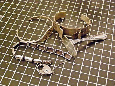 Antique Sterling Silver Jewelry Lot To Wear Or Scrap 91.2 Grams .99