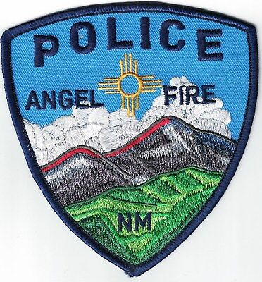 Angel Fire Police New Mexico NM patch