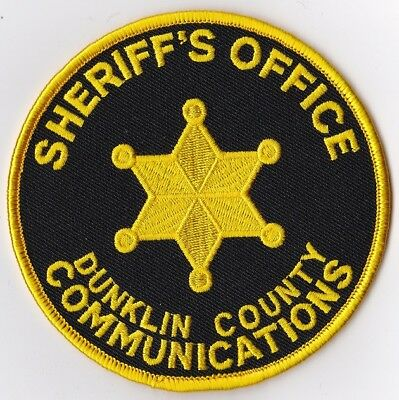 Dunklin county Sheriff's Office Communications Police Patch Missouri MO