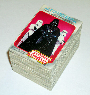 STAR WARS cards set O-Pee-Chee 1980 Empire Strikes Back Series 1 OPC vintage red